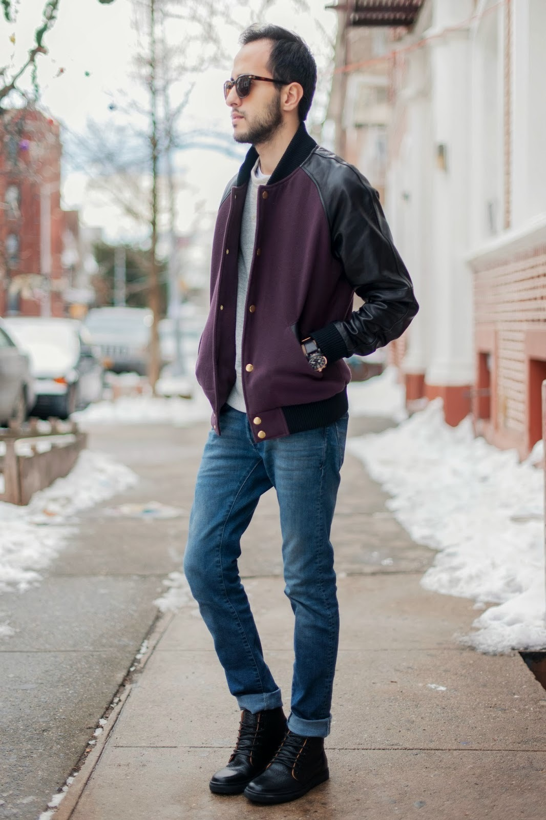 How To Wear Blue Jeans With Black Boots | Men's Fashion