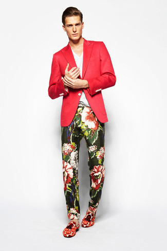 How to Wear a Red Blazer (68 looks) | Men's Fashion