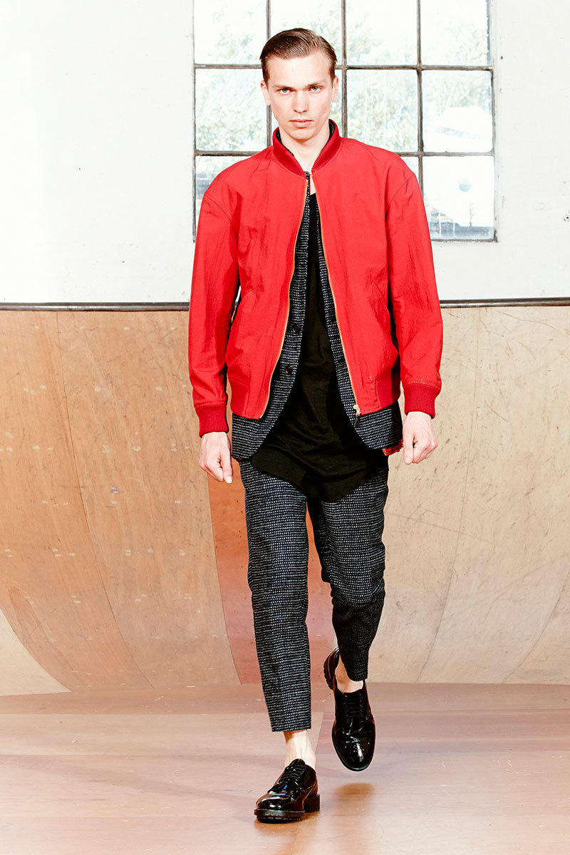 How to Wear a Red Bomber Jacket (19 looks) | Men's Fashion