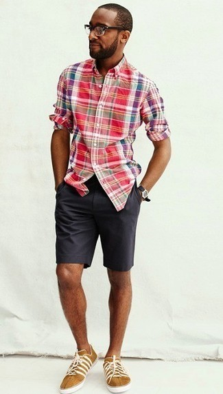How To Wear Charcoal Shorts 8 Looks Lookastic For Men