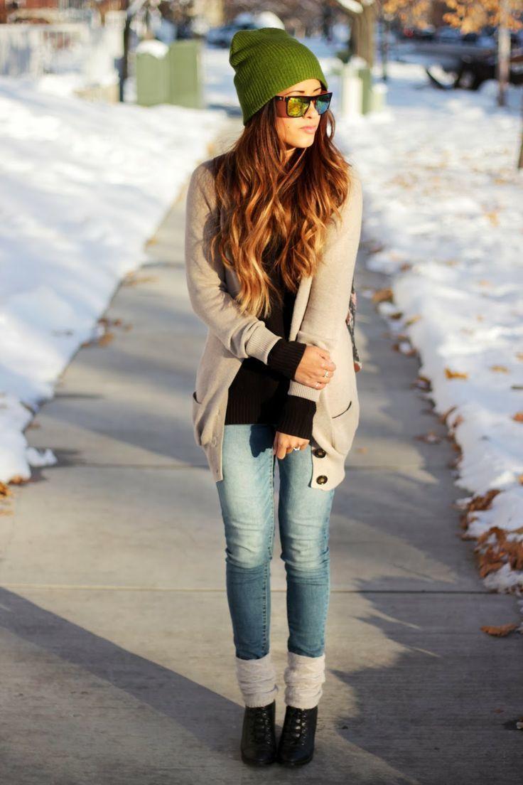 How to Wear a Beige Shawl Cardigan (4 looks) | Women's Fashion