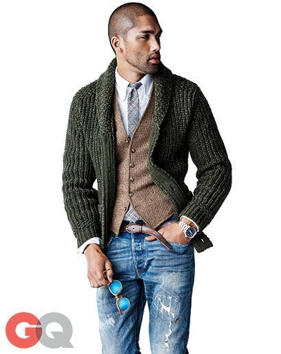 How to Wear a Dark Green Sweater (135 looks) | Men's Fashion