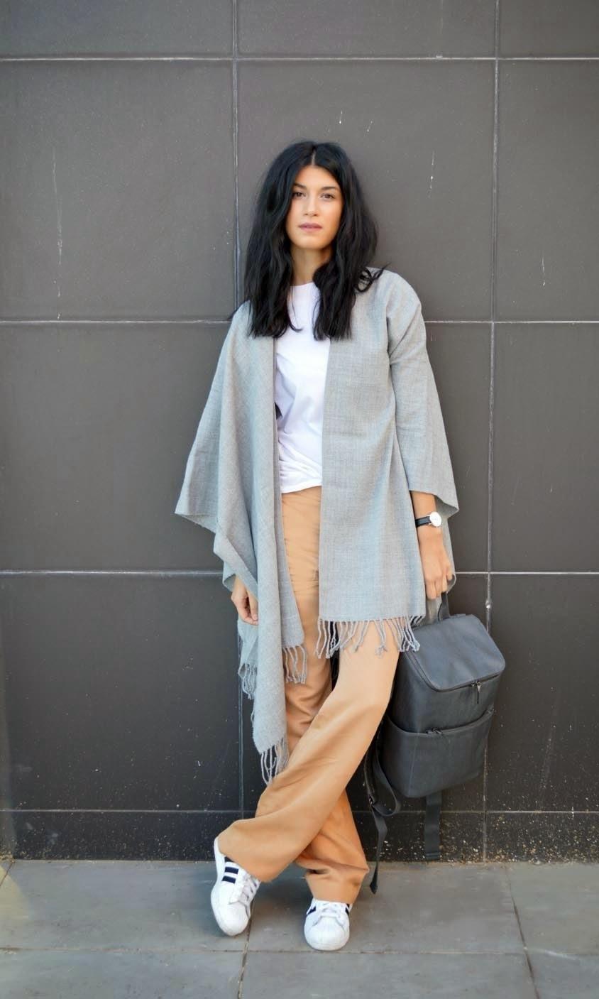 How to Wear Tan Wide Leg Pants (22 looks) | Women's Fashion