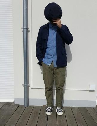 Bucket Hat In Navy