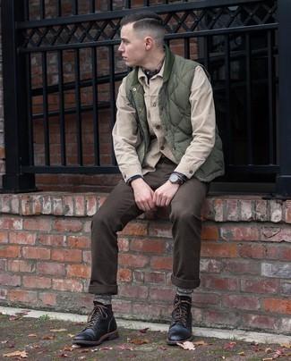 Coastline Check Flannel Button Up Shirt