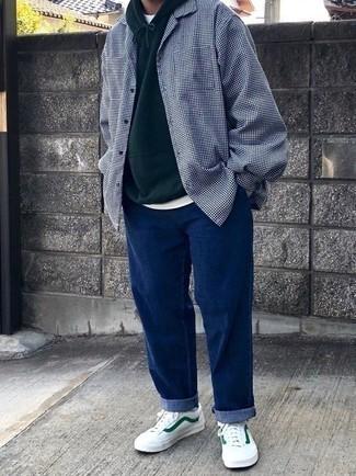 Jeans Blades Tapered Cinch Back Dark Aged