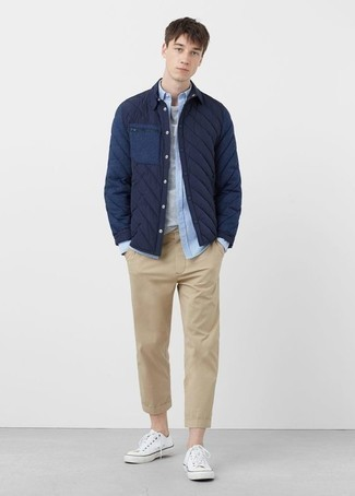 Plain Front Tailored Fit Original Chino Pants