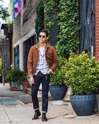 Leather Oxford Boots