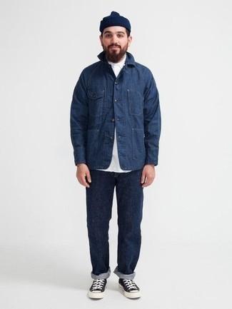 Skinny Jean In Dark Blue