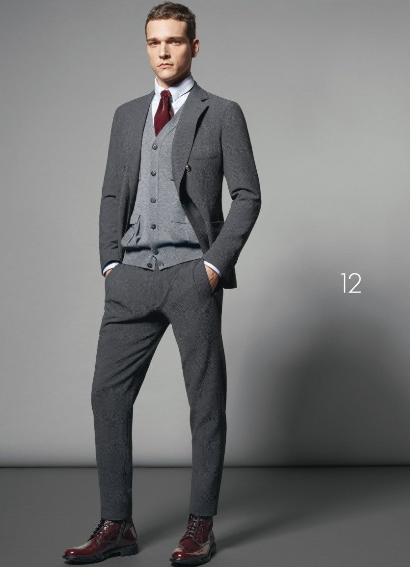 Grey Suit | Men's Fashion