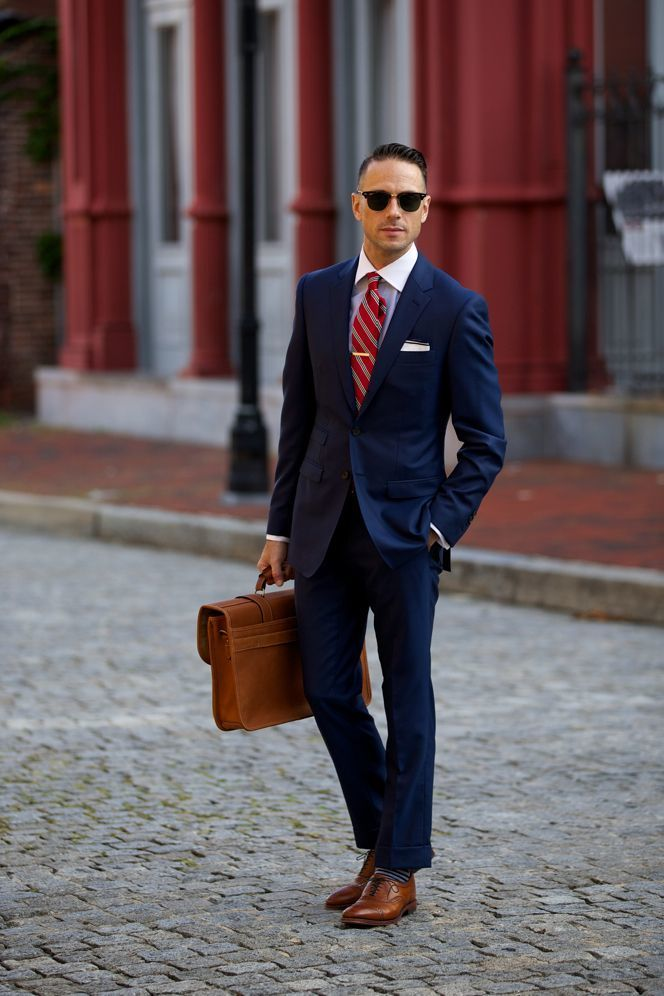 Navy Suit | Men's Fashion