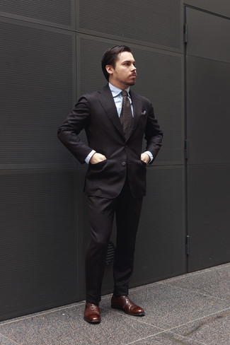 Can You Wear Dark Brown Shoes With Black Suit - Style Guru ...