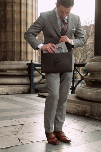Elkington Leather Briefcase