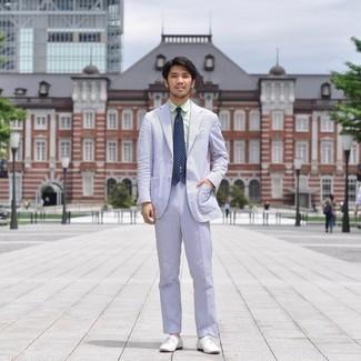 Drakes Slim Fit Slub Cotton Oxford Shirt
