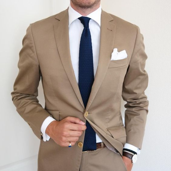 How to Wear a Tan Suit (98 looks) | Men's Fashion