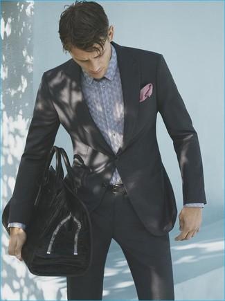 e7346758508 Python Print Silk Shirt Black White No Color Favorite Unfavorite. Pairing a Saint  Laurent ...