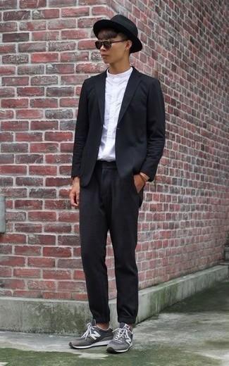 Boiler Suit In Black