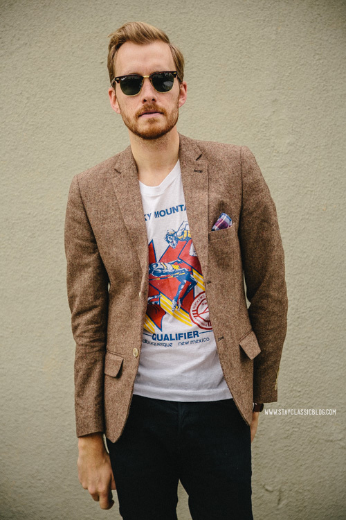 Sport Coat With T Shirt