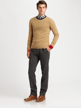 Slim Fit Super 120s Wool Trousers