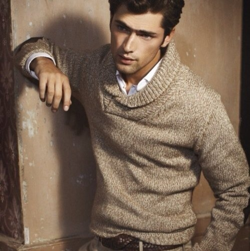 How to Wear a Tan Crew-neck Sweater (95 looks) | Men's Fashion