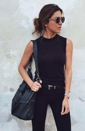 Patent Leather Sash Belt