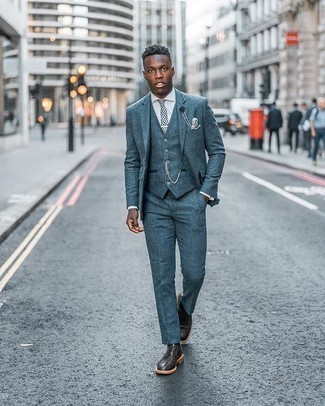 Men's Outfits 2020: For a look that's classy and envy-worthy, make a white dress shirt your outfit choice.