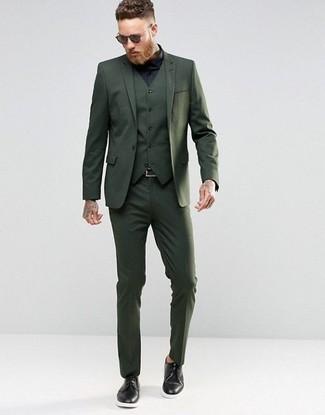 Shop Smartcare Trim Fit Solid Dress Shirt
