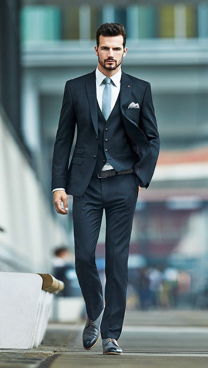 Watch 20 Ways to Wear Blue Suits with Brown Shoes Ideas for Men video