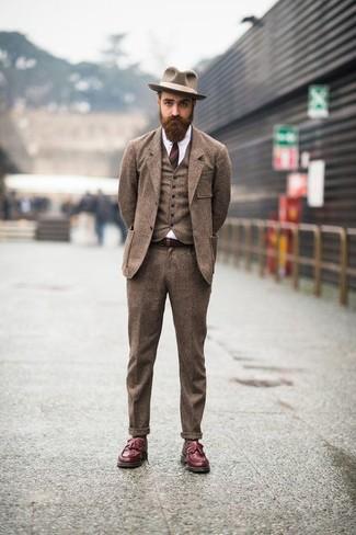 patchwork design hat