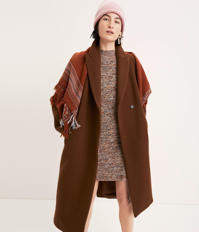 How to Wear a Dark Brown Sweater Dress (9 looks) | Women's Fashion