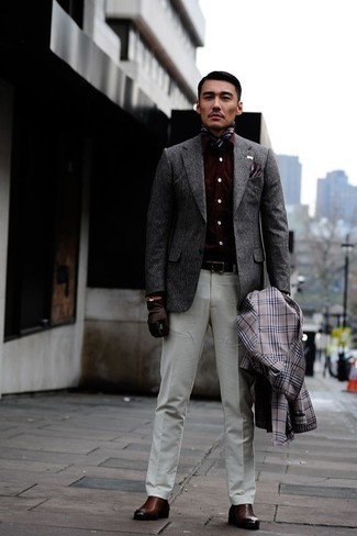 Slim Fit Glow Solid Wrinkle Resistant Spread Collar Dress Shirt
