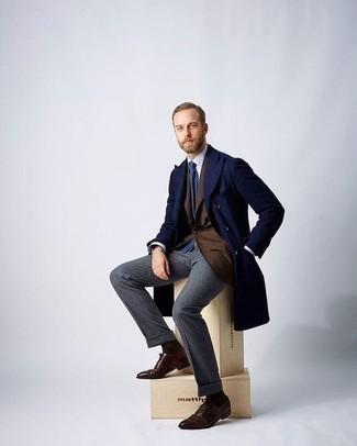 Jf J Ferrar End On End Suit Jacket Classic Fit