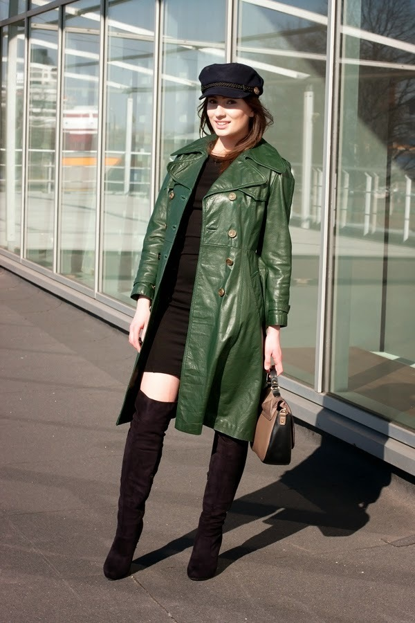 Leather Trenchcoat | Women's Fashion