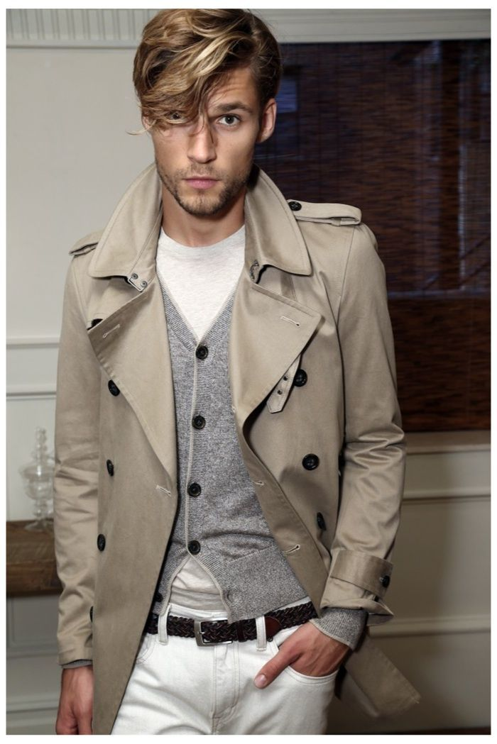 How to Wear a Beige Trenchcoat (123 looks) | Men's Fashion