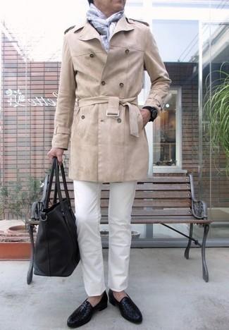 Steadman White Slim Fit Jeans