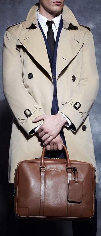 London Cotton Twill Trench Coat