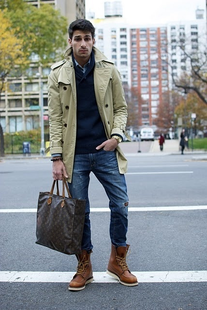 Beige Trenchcoat | Men's Fashion
