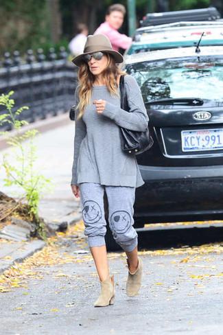 Tunica pantalon de chandal botines large 4993