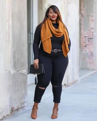 Cameron Street Caroline Leather Zip Pouch