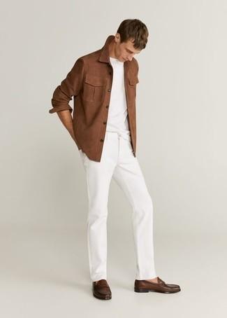 Five Pocket Jeans White