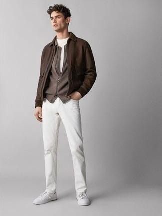 Lightweight Skinny Jeans White