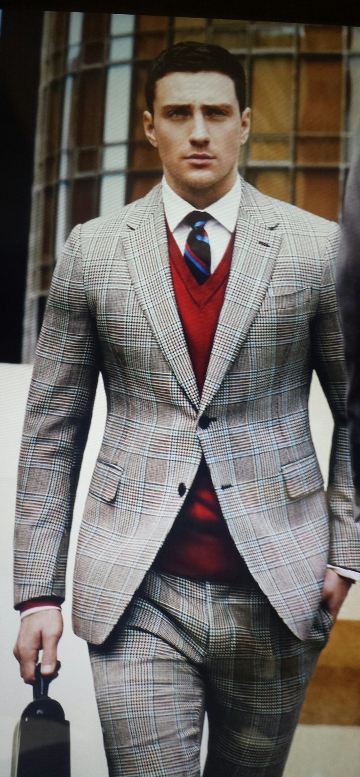Sweater vest shirt and tie long sweater jacket for Dress shirt with sweater