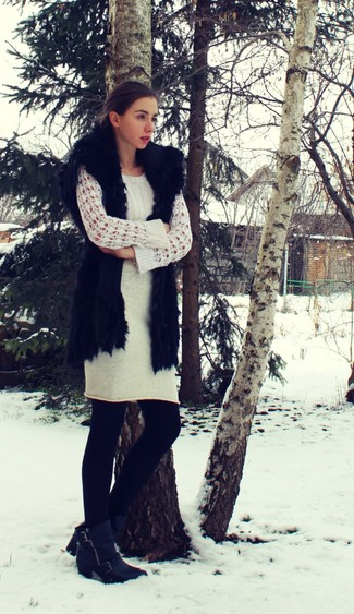 Studded Cable Knit Jumper