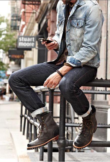 Mode Veste En Tenues Porter Une Hommes Jean 453 Comment vatnq0zEwn