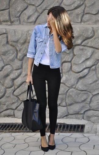 Avec quoi mettre une veste en jean claire