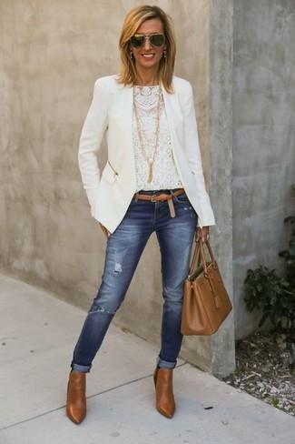 Avec quoi porter la veste blanche