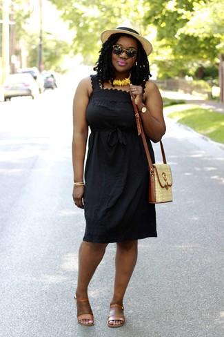 Bisuteria para vestido negro