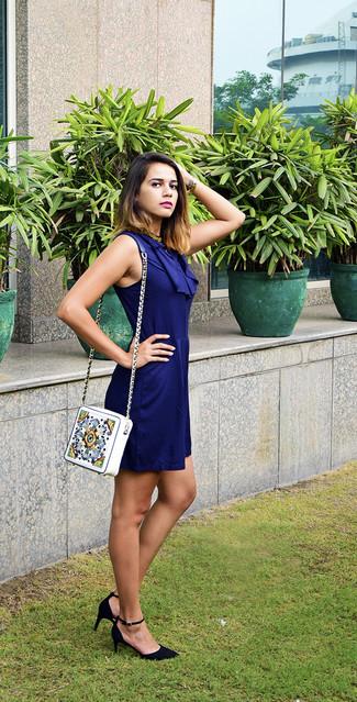 Zapatos para vestido azul marino casual