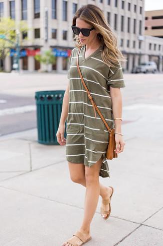 8a0d9f246 Cómo combinar un vestido casual verde oscuro en verano 2019 (3 looks ...