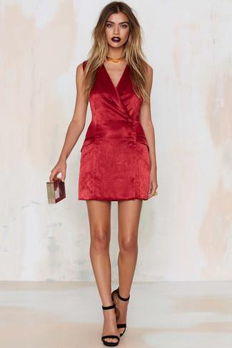 Un De Cómo Terciopelo Vestido Looks Rojo26 Combinar Moda kuwiXOPZT
